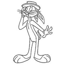 25 free printable bugs bunny coloring pages