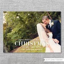 Newlywed Cards Newlywed Christmas Card