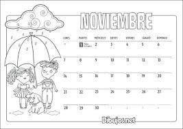 imagenes calendario octubre 2015 para imprimir calendario infantil 2016 para imprimir y colorear dibujos net