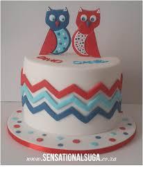 twins owl baby shower cake sensational suga