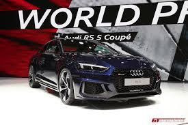 audi rs5 coupe geneva 2017 audi rs5 coupe gtspirit