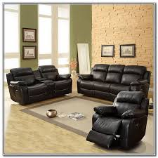 Black Leather Reclining Loveseat Black Leather Reclining Loveseat With Console Home Design Ideas