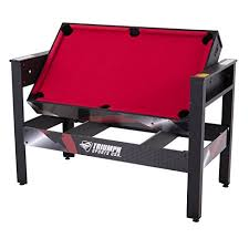 triumph 4 in 1 game table amazon com triumph 4 in 1 swivel multigame table sports outdoors