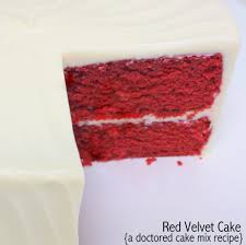red velvet cake doctored cake mix recipe my cake