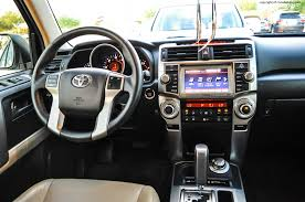 2013 4runner Limited Interior 2011 Toyota 4runner Limited Review Rnr Automotive Blog