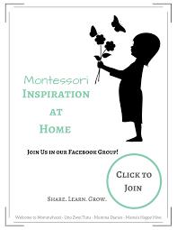 our montessori inspired homeschool plan for preschool 2 5 4 years