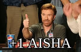 Aisha Meme - 1 aisha chuck norris approves meme on memegen