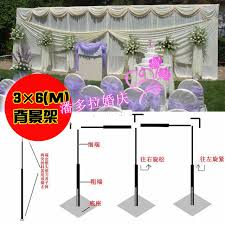 wedding backdrop frame 3m 6m wedding stainless steel pipe 10ft h by 20ft w wedding