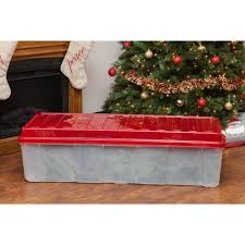 christmas tree storage box iris tree storage tote walmart