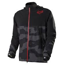 fox downpour jacket black camo 2015 mens cycling mtb xc am all