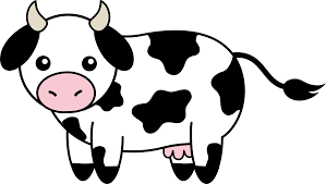 black and white thanksgiving clipart baby cow clipart yafunyafun com