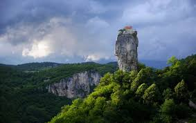 katskhi pillar monk maxime qavtaradze renews age old tradition