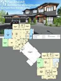 One Story Floor Plans With Bonus Room by Plan 81681ab Barrel Vaulted Bonus Room With Sun Deck