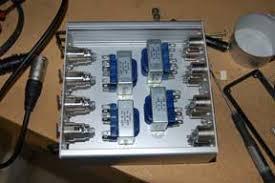 building a transformer balanced mic splitter bgilbertsound