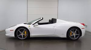used 458 spider 2014 used 458 spider at mercedes of chandler serving
