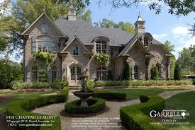 chateau house plans chateau le mont house plan house plans by garrell associates inc