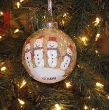 5 finger snowman ornament gift when going for a house