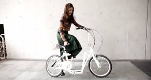 this new folding slider bike doubles as a scooter u2013 and it fits