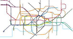 London Metro Map by London Underground Archives Visual News