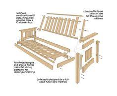 Futon Bunk Bed Woodworking Plans by Diy Futon Frame Wooden Google Search Diy Pinterest Futon