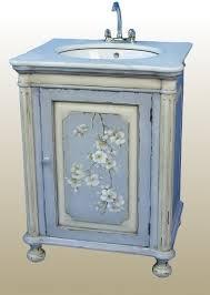 Blue Bathroom Vanity by Painted Bathroom Cabinets The Average Diy Girlu0027s Guide To