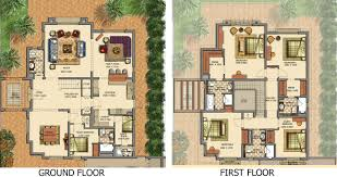 villa floor plans victory heights floor plans dubai sports city villa types