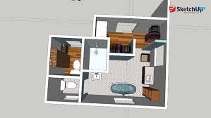 master suite remodel sketch 3d warehouse