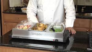 waring pro bfs50b professional buffet server youtube