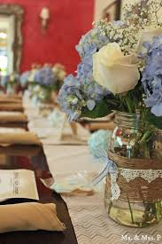Vintage Baby Shower Centerpieces • Baby Showers Ideas