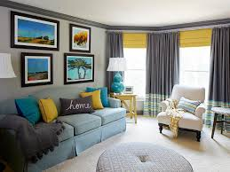 Grey Living Room With Yellow Accent Wall Stylish Grey And Yellow Living Room Decor Ideas Living Room Dining