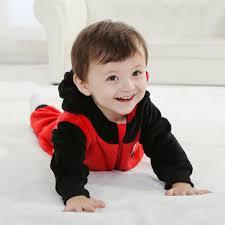 Ladybug Baby Halloween Costume Double Red Ladybug Romper N6293