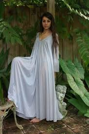 nightgowns for honeymoon peasant sleeve nightgown sleeve swing gray