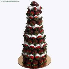 diy strawberry christmas tree árboles de navidad hechos con