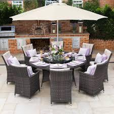 Maze Kitchen Table - rattan garden furniture dining sets from the gardening website