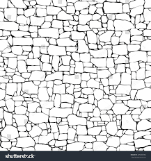 seamless vector black white background stone stock vector