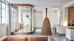cut architectures design an elegant duplex in paris homedsgn glass cut architectures design an elegant duplex in paris homedsgn glass walnut loft by home decorating