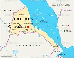 Map Of Eastern Africa by Eritrea Is Located In East Africa And Is A Part Of Horn Of Africa