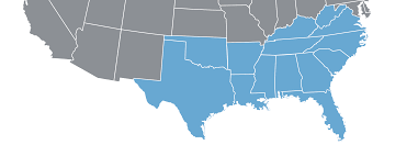 Southeast United States Map by Southern Usa Hosted Business Phone Systems Save Up To 65 Crexendo