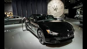 maserati car 2018 2018 new cars coming out u0027 u00272018 maserati ghibli nerissimo black