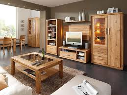 holz wohnzimmer wohnzimmermöbel holz massiv rheumri