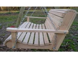 Outdoor Patio Swing by Pallet Patio Swing