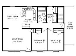ranch floor plan floor plans