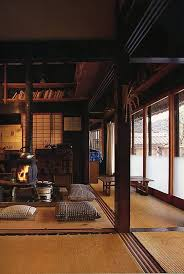 japanese home interiors traditional japanese house design with stove jpg 1381 2061