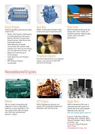 nass engineering services single page brochure
