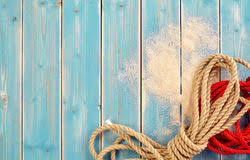 nautical background with weathered blue wood stock image image
