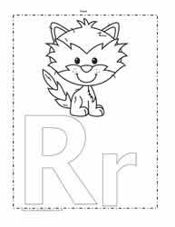 alphabet coloring pages worksheets
