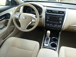 2008 Nissan Maxima Interior Altima Tan Cloth Ip Photo Courtesy Michael Karesh The Truth
