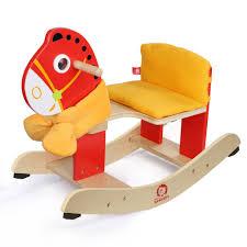 Baby Rocking Chair Trojans Rocking Baby Chair Wooden Rocking Horse Dual Purpose