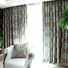 light blue and brown shower curtains duck egg striped panels green