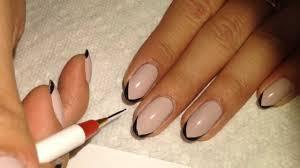 simple elegant nail tutorial youtube